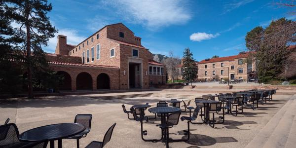 A photo of CU Boulder's University Memorial Center