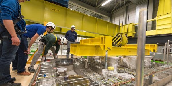 researchers at the Long-Baseline Neutrino Facility