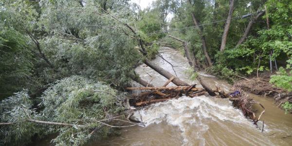 Boulder Creek flood damage in 2013