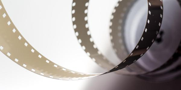 Film coming off of a reel