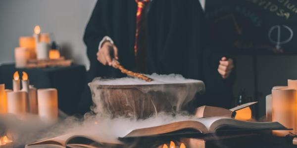 A Harry Potter-inspired party
