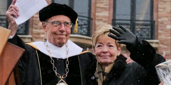 Bruce, left, and Marcy Benson