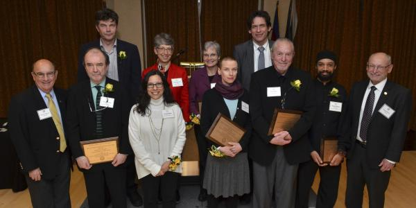 Recipients of the 2017 BFA Excellence Awards.