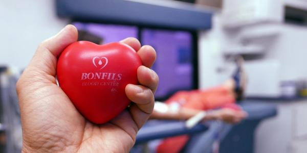 Stock photo from Bonfils Blood Drive on campus