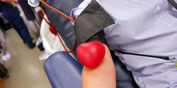 Stock photo from a CU Boulder blood drive