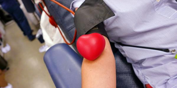 Image from a CU blood drive