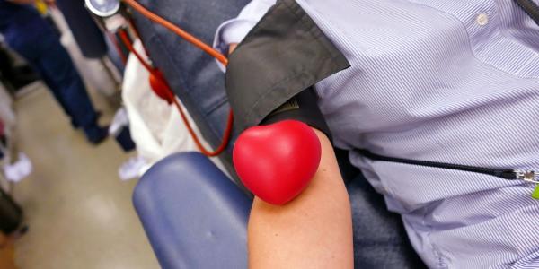 Stock photo of a CU Boulder blood drive