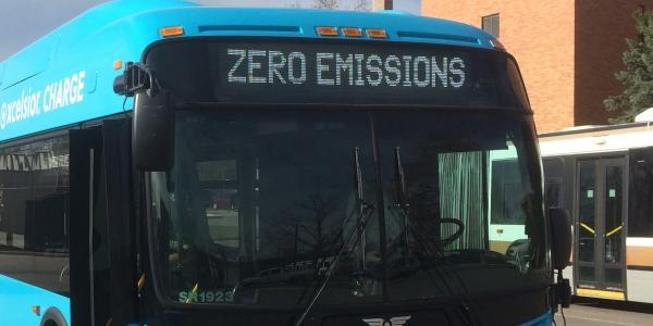 A zero-emissions bus