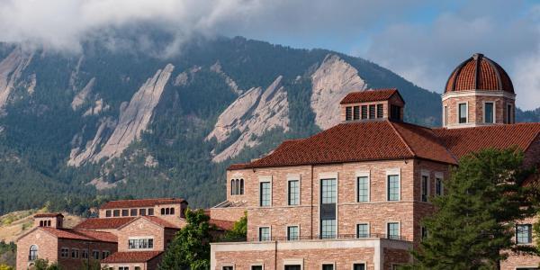 Koelbel Building as viewed from Business Field