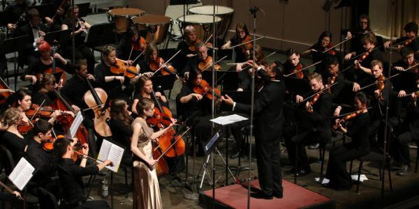 Chamber Orchestra performance