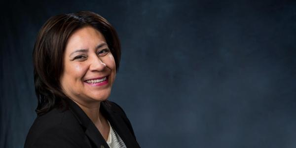 Vice Chancellor for Student Affairs Christina Gonzales