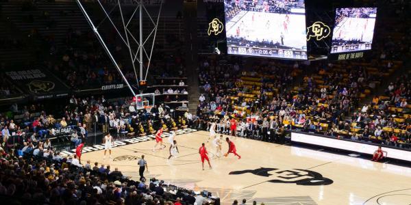 CU men's basketball team vs. New Mexico
