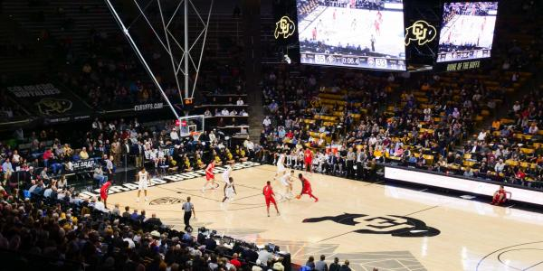 CU men's basketball team plays at home