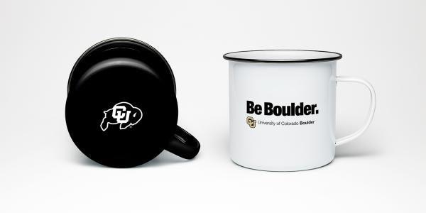 CU Boulder mugs