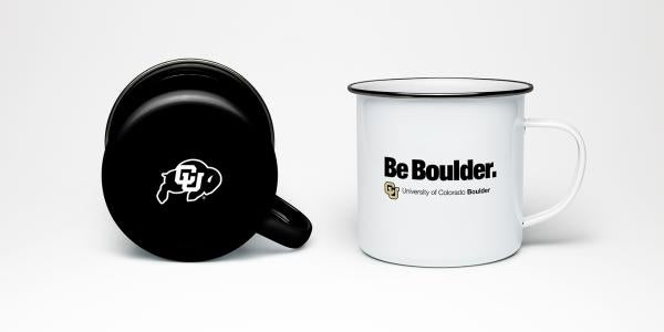 CU Boulder coffee mugs