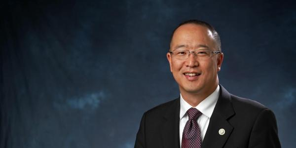 Vice Chancellor for Infrastructure and Sustainability David Kang