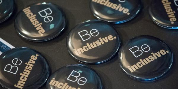 Be Inclusive buttons