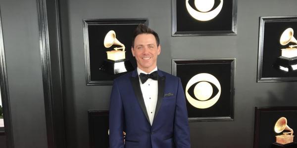 Don McKinney on the Grammy red carpet