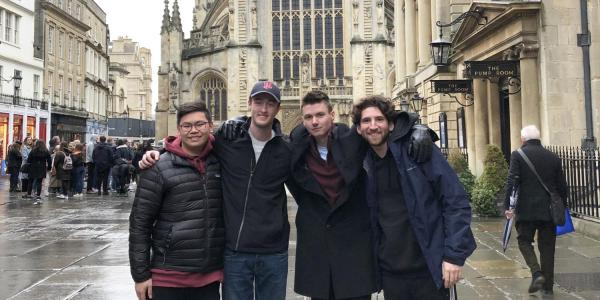 Buffs studying abroad in Bath, England