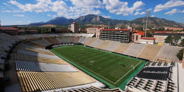 Folsom Field on the CU Boulder campus