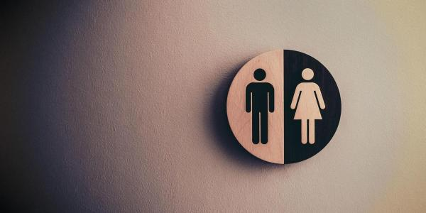 An image of a bathroom sign