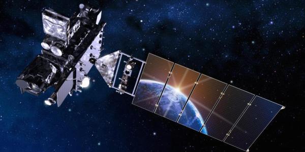 Artist rendering of the GOES-R satellite