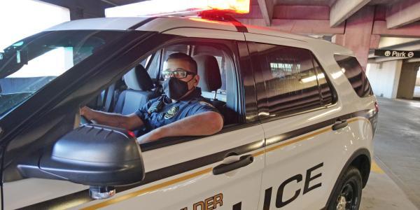 CU Boulder Officer Guillermo Gonzalez
