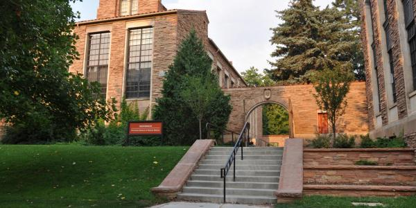 Henderson Building, home of the CU Museum of Natural History