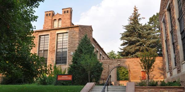 Henderson Building, CU Museum of Natural History