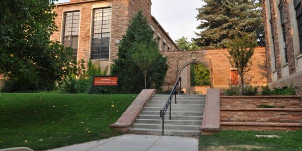 CU Museum of Natural History building