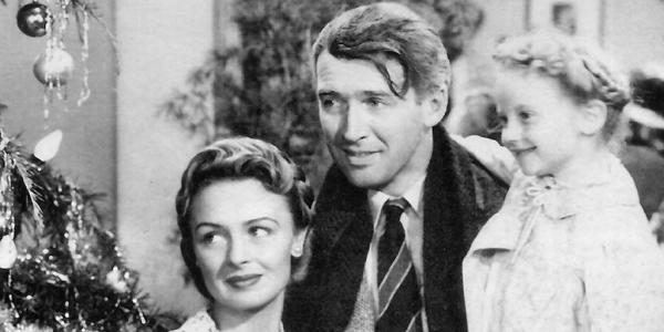 "Screengrab of ""It's a Wonderful Life"""