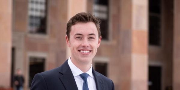 Jake Reagan, CU Boulder 2020 Rhodes Scholar