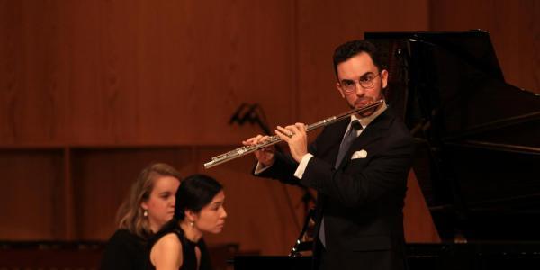 Flutist Kaleb Chesnic
