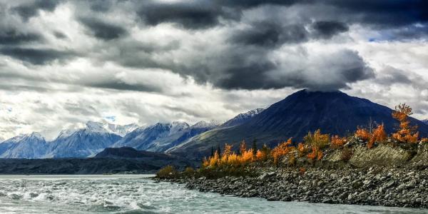 a river in the Yukon Territory, Canada