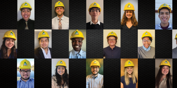 Students participating in the Kiewit Design-Build Program