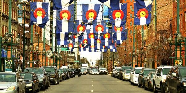 Larimer Square, Denver.
