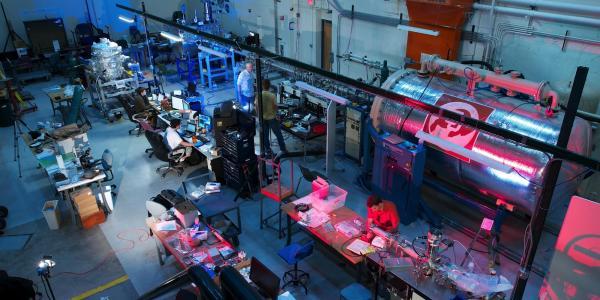a 3 MV linear electrostatic dust accelerator inside the IMPACT facilities