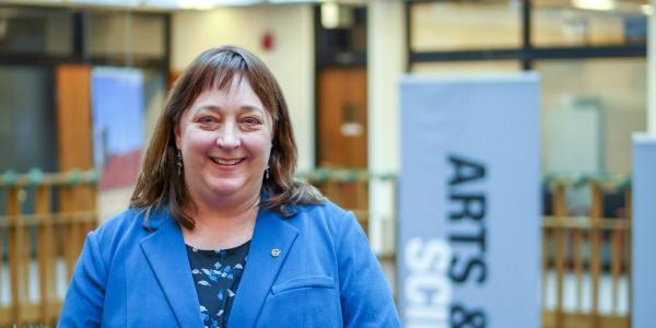 Interim Dean of the Graduate School Leslie Reynolds