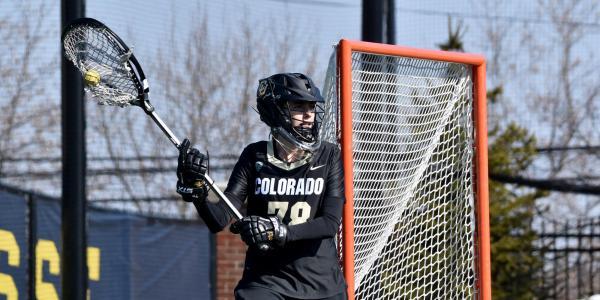 Colorado lacrosse goalie Julia Lisella