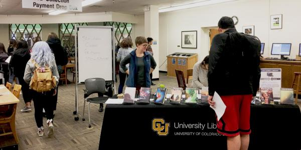 Last year's Living Library event