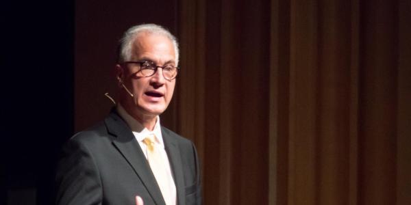 Mark Kennedy addresses Boulder campus during open forum
