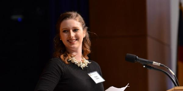Meghan Dulsky receives scholarship