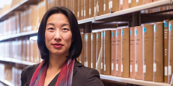 CU Law Professor Ming Chen wrote a piece for The Conversation about a backlog in U.S. citizenship applications and what that means for civil and voting rights. (Photo by Glenn Asakawa/University of Colorado)