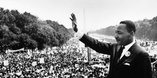 Martin Luther King Jr. at March on Washington