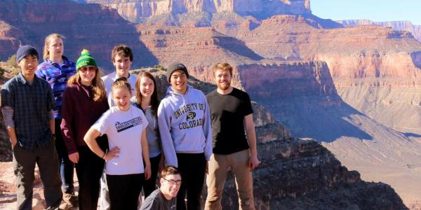Students in Moab