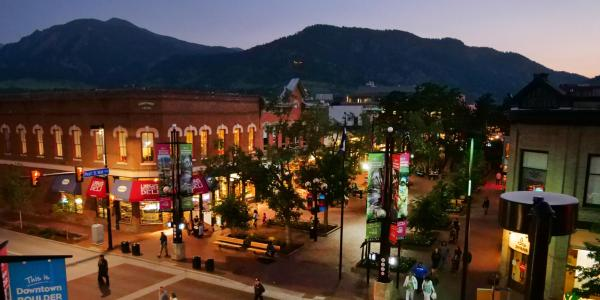 Pearl Street Mall in Boulder