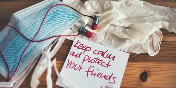 Keep calm and protect your friends