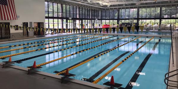 CU's indoor competition pool