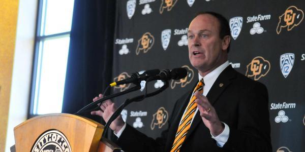 CU athletic director Rick George