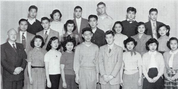 A photo showing Japanese students at CU Boulder